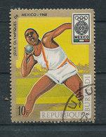 Y&T N° A95 - J.O. Mexico 68 - Burundi