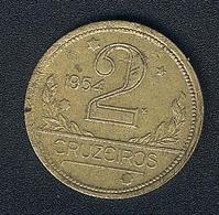 Brasilien, 2 Cruzeiros 1954 - Brazil