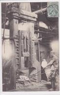 08 FLIZE  Forge Marteau Pilon , Ouvrier Au Travail ,courrier A Mme Banteaux - France