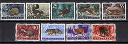 Yugoslavia,Fauna-Forest Animals 1960.,MNH - Unused Stamps