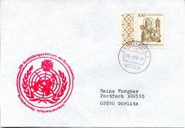 """(BWH2) BRD Cachetumschlag Bundeswehr """"VN-Ausbildungszentrum Der Bundeswehr"""" TSt 171.1995 HAMMELBURG 2 - Lettres & Documents"""