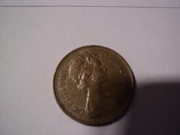 ANGLETERRE. ONE PENNY 1984. PORTAIL COURONNE. BRONZE - 1971-… : Monnaies Décimales