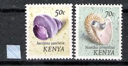 Kenya 1971-74 Shells Definitive MNH CV £36.80 (2 Scans) - Kenya (1963-...)