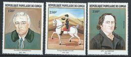 Congo-Brazzaville YT 667-669 XX / MNH - Congo - Brazzaville