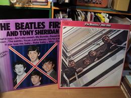 BEATLES. LOT D 1 DOUBLE 33 TOURS ET D UN 33 TOURS. 1973 / 1982 2 C 156 05307 8 / 6886 556 AVEC TONY SHERIDAN. LOVE ME D - Vinyles