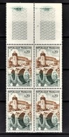 FRANCE 1962 - BLOC DE 4 TP / Y.T. N° 1330  - NEUFS** - Neufs