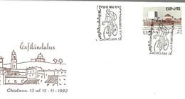 POSTMARKET ESPAÑA 1992 - Cycling