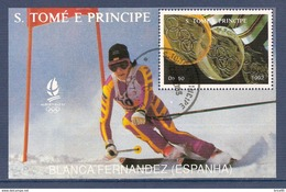 Sao Tome Et Principe - Bloc Oblitéré - 1992 - Sao Tome Et Principe