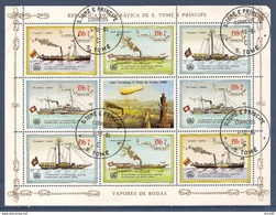 Sao Tome Et Principe - Bloc Oblitéré - 1984 - Sao Tome Et Principe