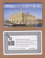 AC - SUBWAY, METROCARD, BUS, TRAM, FERRY SINGLE RIDE CARD ISTANBUL, TURKEY - Titres De Transport