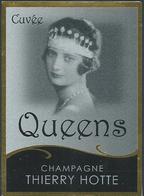 Etiquette CHAMPAGNE Reine Astrid - Champagne