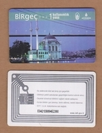AC - SUBWAY, METROCARD, BUS, FERRY, TRAM SINGLE RIDE CARD ISTANBUL, TURKEY - Titres De Transport