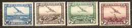 Belgie Belgique 1930 OCBn° PA1-4 LP 1-4 (*) MLH Cote 7,50 Euro - Poste Aérienne