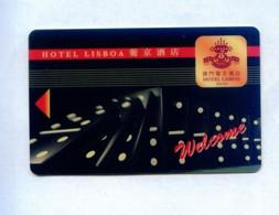 Macau Hotel Key, Hotel Lisboa Macao, (1pcs) - Macau