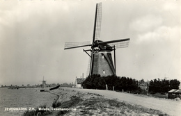 Zevenhuizen, Poldermolen, Windmill, Real Photo, Tweemanspolder - Watermolens