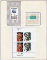Ballon 1981 Polonia Blocks 84,85,86 ** 6€ Picasso Schloß Weichsel Hoja Church M/s Blocs EXPO S/s Sheets Bf Pologne - Blocks & Sheetlets & Panes