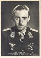 CPA Ritterkreuzträger Der Luftwaffe Major Hermann Graf Aviateur Aviation SS Nazi - Guerre 1939-45