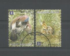 Belgium 2011 Europa Fauna OCB 4180/4181 (0) - Oblitérés