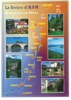 CP La Riviere D'Ain De Ka Source Au Rhone (01) Champagnole à Pont D'Ain Villes Diverses - Sonstige Gemeinden