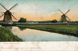 Pijnacker, Nootdorp, Zuidmolen, Windmill, Hoog Pijnackerse Polder - Watermolens