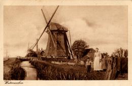 Pijnacker, Nootdorp, Zuidmolen, Windmill, Hoog Pijnackerse Polder, Gezin Molenaar? - Watermolens