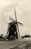 Puttershoek, De Lelie, Korenmolen, Windmill, Real Photo - Watermolens