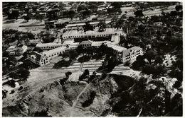 Rhodesia, VICTORIA FALLS, Aerial View Of The Hotel (1940s) RPPC - Zimbabwe