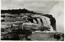 Rhodesia, VICTORIA FALLS, The Rapids Above The Main Falls(1940s) RPPC - Zimbabwe