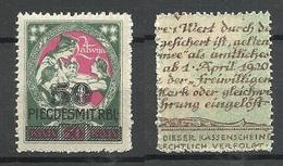 LETTLAND Latvia 1921 Michel 73 MNH - Lettland