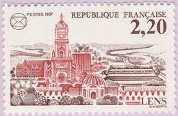 N° Yvert & Tellier 2476 - Timbre De France (Année 1987) - MNH - 60è Congrès Nat. Féd. Stés Philatéliques Fses à Lens - Francia