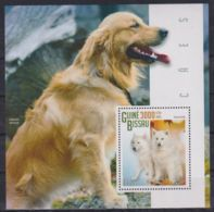 N611. Guinea-Bissau - MNH - 2015 - Nature - Animals - Dogs - Bl. - Timbres