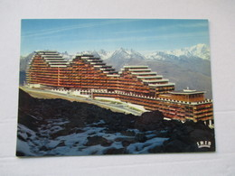 La Plagne N°1576 La Station De Aime La Pierrementa Le Roignais Mont Blanc - France