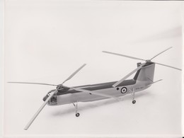 BRISTOL  TYPE 191 HELICOPTER  24 * 17  CM Aviation, AIRPLAIN, AVION AIRCRAFT - Aviación
