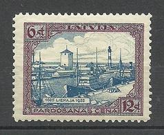 LETTLAND Latvia 1925 Michel 107 * - Lettonie