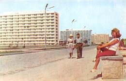 ¤¤  -  ROUMANIE   -  MAMAIA  -  În Lungul Promenadei, Hotelurile Sirena, Doina, Flora  -  ¤¤ - Roumanie