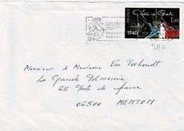 TP  N° 2115 Sur Enveloppe De Granville - Marcophilie (Lettres)