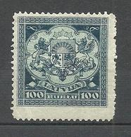 LETTLAND Latvia 1922 Michel 88 * - Lettonie