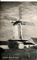 Ouddorp, Korenmolen, Windmill, Real Photo, De Zwaan - Watermolens
