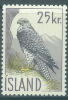 ISLAND  - 1960 - MNH/** - FALCON  - Yv 298 Mi 339 - Lot 19043 - 1944-... Republique