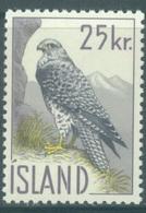 ISLAND  - 1960 - MNH/** - FALCON  - Yv 298 Mi 339 - Lot 19043 - 1944-... Republik