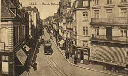 LILLE  Rue De Béthune Tram Commerces Chocolat Bellespaul Havez  RV - Lille