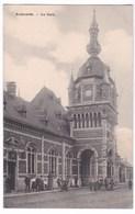 Audenarde Cpa La Gare Geanimeerd - Oudenaarde