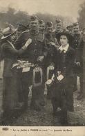 1 Cpa Paris - Le 14 Juillet à Paris En 1916 - Journée De Paris - Non Classificati