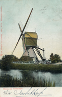 Ouderkerk A.d.IJssel,Lage Molen, Poldermolen, Windmill, Zijdepolder - Watermolens