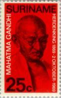 Suriname 1969 Gandhi 100 Jaar - NVPH 519 MNH** Postfris - Suriname ... - 1975