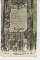 SAUCOURT - Plaque Aux Morts - Guerre 1914-18 - Sonstige Gemeinden