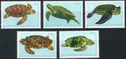 Suriname 1982 Zeefauna, Turtles, Schildpadden,  MNH/**/Postfris - Suriname