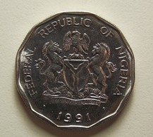 Nigeria 50 Kobo 1991 - Nigeria