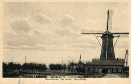 Oud Alblas, De Hoop, Korenmolen, Windmill, - Watermolens
