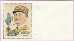 Enveloppe FDC (Non Timbrée) - Général Charles Delestraint (1879-1945) - Andere